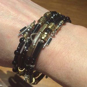 Silpada Jewelry - BNiB Silpada B3329 Nightfall wrap bracelet.